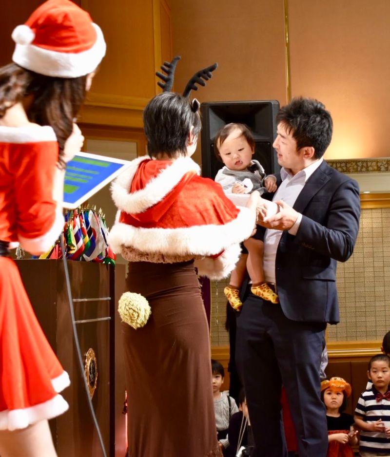 クリスマス例会の様子15